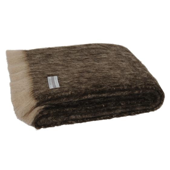 Windermere Mohair Throw Blanket Kiwi