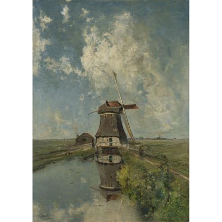 Windmill Decoupage Paper by Mint
