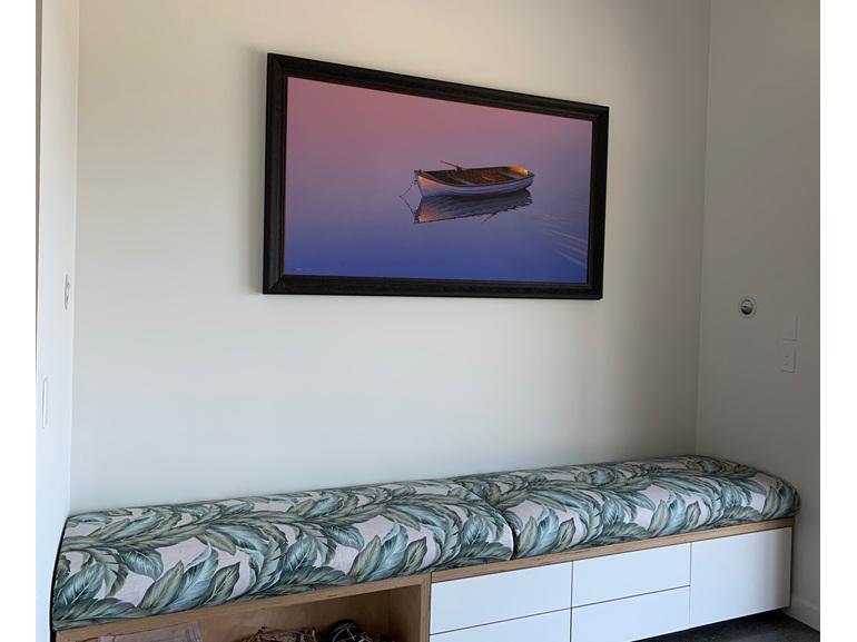 Window Seat Inner Sprung Made to order New Zealand UV pro Fabrics