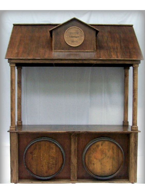 wine barrel bar hire