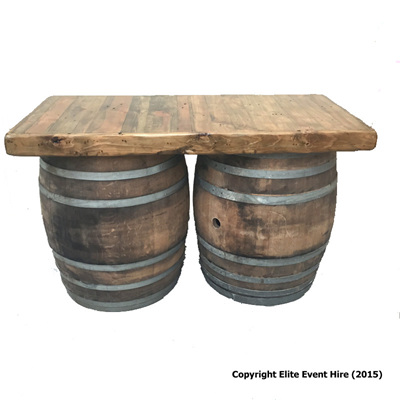 2 Barrel Bar/Table