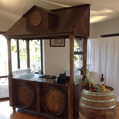 Wine Barrel Table/Bar