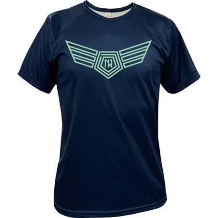 Wings Tee - Navy