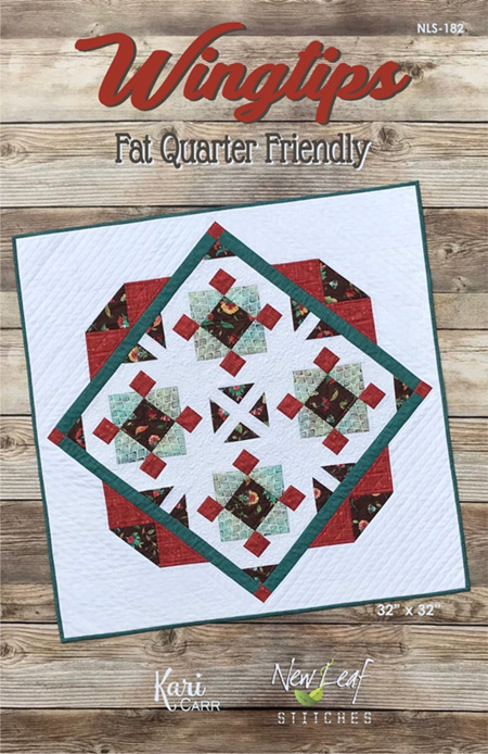 Wingtips Table Topper Pattern