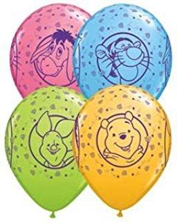 Winnie the pooh latex balloons x 1