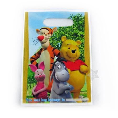 Winnie the Pooh - Loot Bags pack of 8