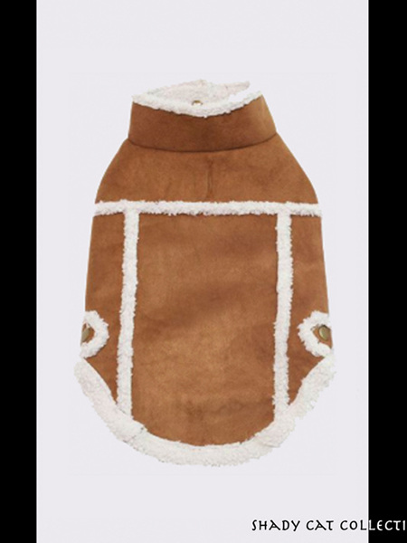 Winter Jackets for Cats - Brown