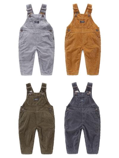 Winter Oshkosh cord lined overalls