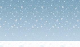 Winter Sky Backdrop scene setter