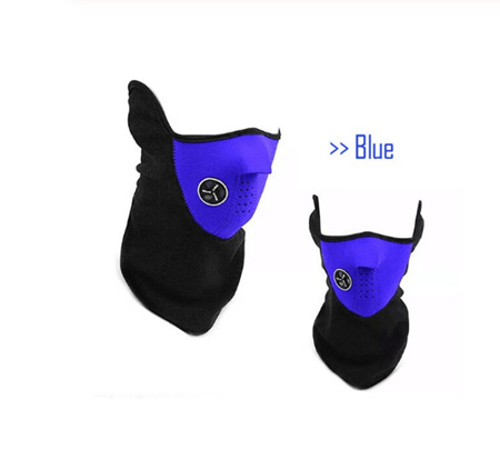 Winter Windproof Mask - BLUE & BLACK