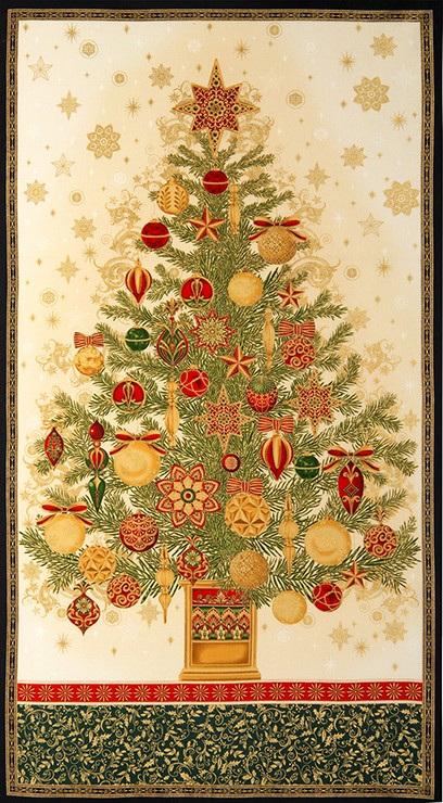 Winter's Grandeur Panel 15186
