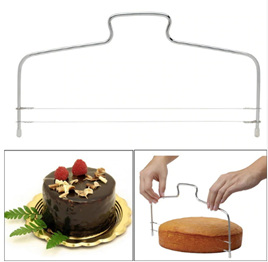 Wire Cake Slicer Tool - Double