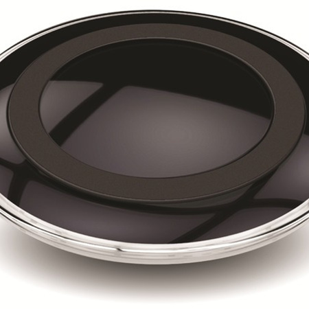 Wireless Charger Pad - Black Carbon