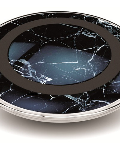 Wireless Charger Pad - Black Marble