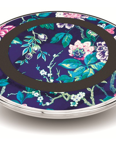 Wireless Charger Pad - Palm Floral