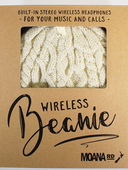 Wireless Music Beanie Cream 539 Out of Stock