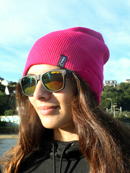 Wireless Music Beanie Pink 1560 Out Of Stock