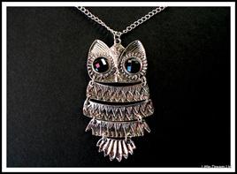 """""""Wise Owl Pendant"""""""