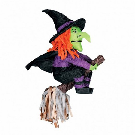 Witch and bloomstick pinata