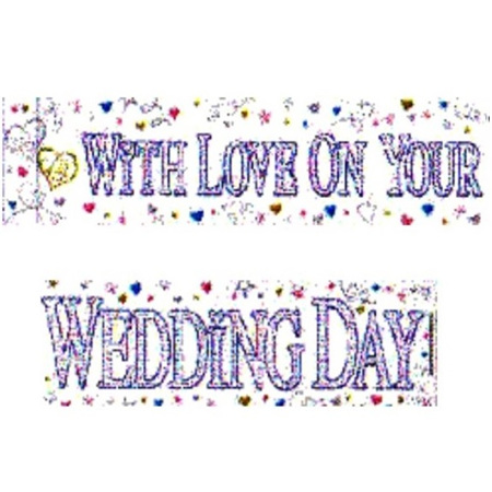 With Love - Wedding Banner