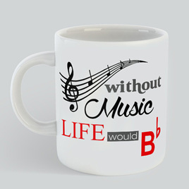 Without Music Mug