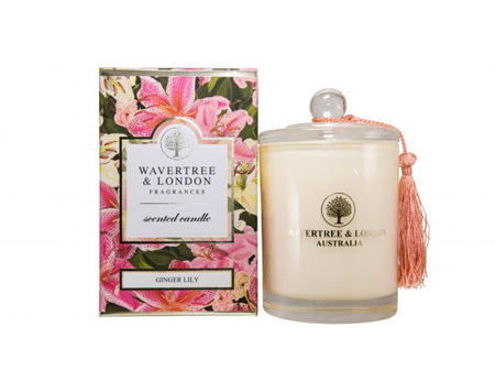 WL GINGER LILY CANDLE