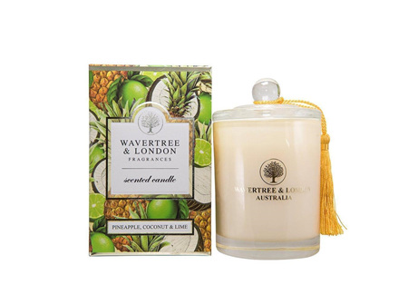 WL PINEAPPLE COCONUT LIME CANDLE