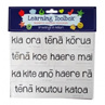 Magnetic NZ Maori Greetings