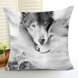 Wolf Protection Cushion Cover