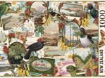 Wolfkamp & Stone Birds & Postcards  1000 Piece Puzzle buy at www.puzzlesnz.co.nz