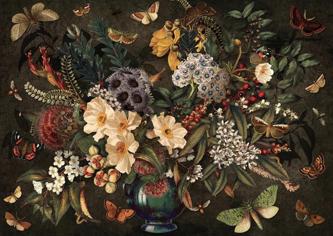 Wolfkamp & Stone - Native Flora & Fauna - 1000 Piece Jigsaw Puzzle
