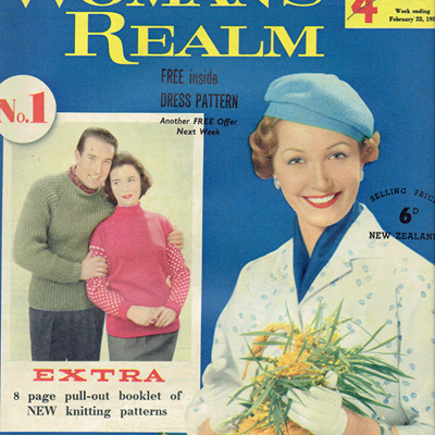 Woman's Realm Magazines 1950s