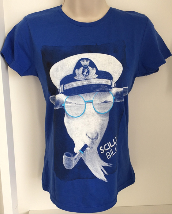 Women's Scilly Billy Tee - Blue