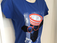 Women's Scilly Moo T-Shirt - Blue