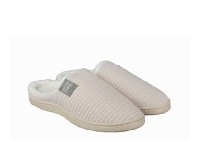 Womens Slippers Knit Med (9-10)
