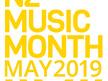 Womens White NZ Music Month 2019 Tee