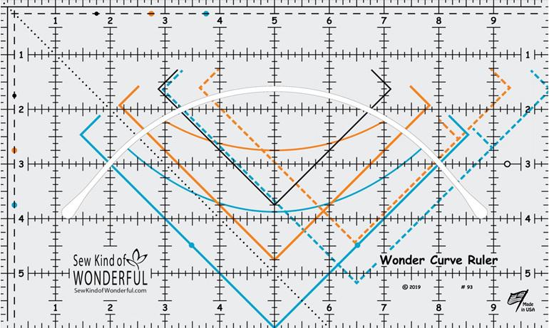 Wonder Curve Ruler from Sew Kind of Wonderful