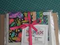 Wonder Flutters Tula Pink Fabric + Ruler Kit