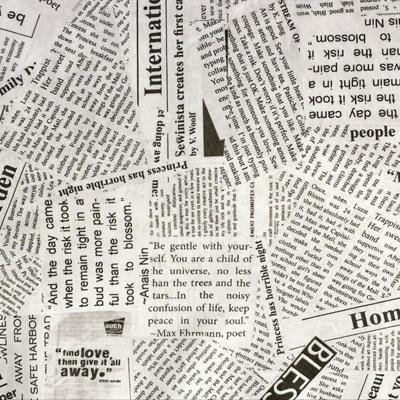 Wonder - Story Newsprint