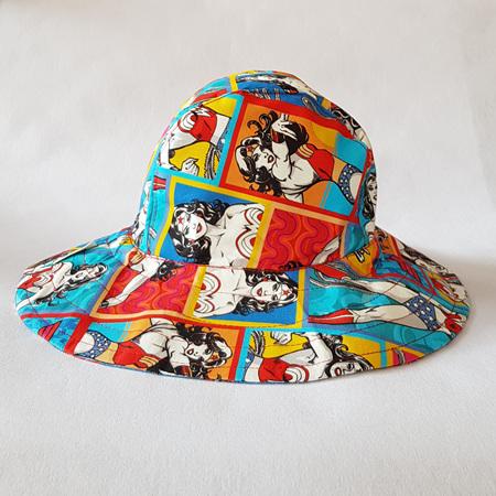 Wonder Woman colour Sombrero Hat - Adult size large