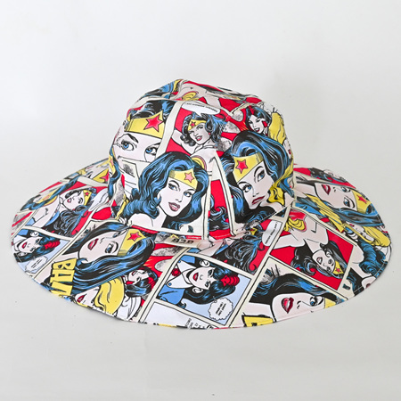 Wonder Woman Sombrero Hat - Adult size large