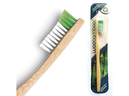 WooBamboo Toothbrush Med