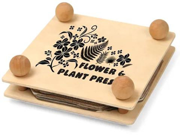 Wooden Flower and Plant Press