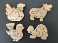 Wooden Puzzle - 5 piece