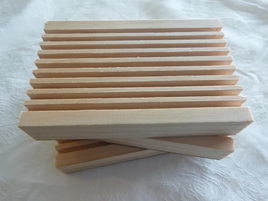 Wooden Soap Racks