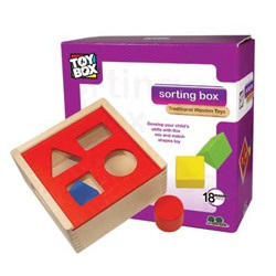 Wooden Sorting Box