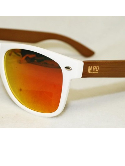 WOODEN SUNNIES-WHITE
