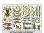 Woodland Christmas  IOD Decor Transfer