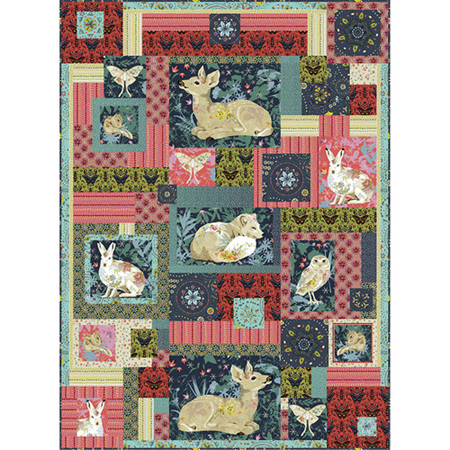 Woodland Dreaming Quilt Kit