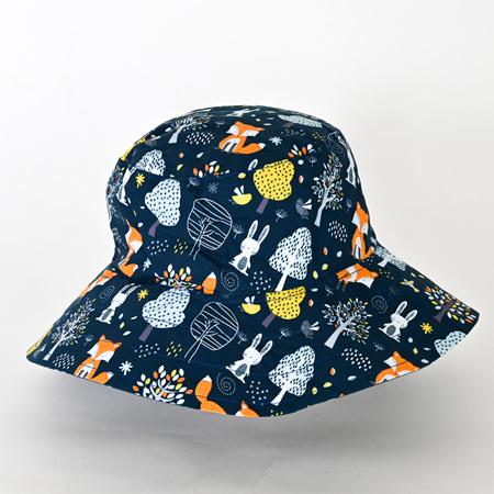 Woodland Friends Bucket Hat - Child size large